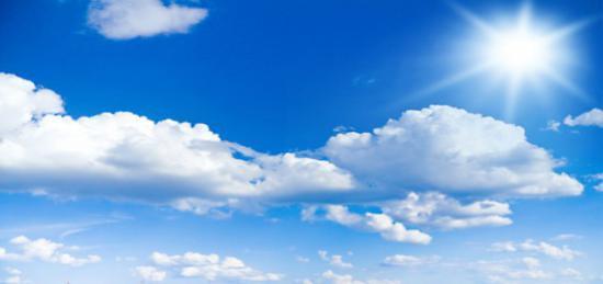 cielo azzurro perche