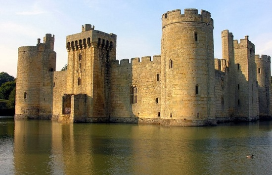 East Sussex England - Castello di Bodiam