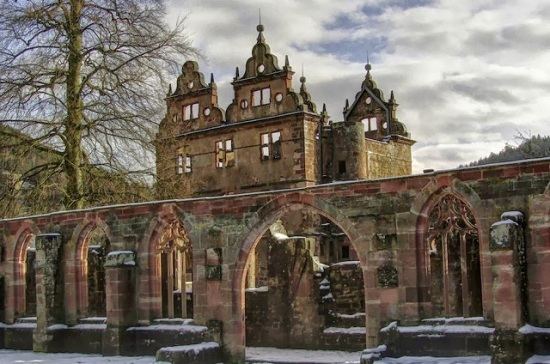Germania - Foresta Nera - Monastero di Sankt Georgen