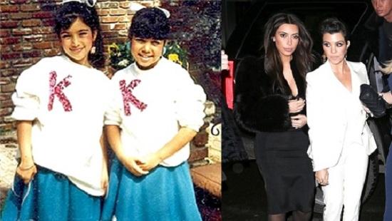 Kim Kardashian e Kourtney Kardashian