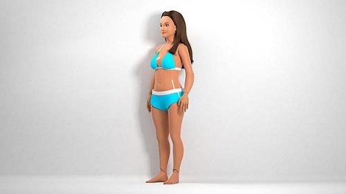 bambola misure normali