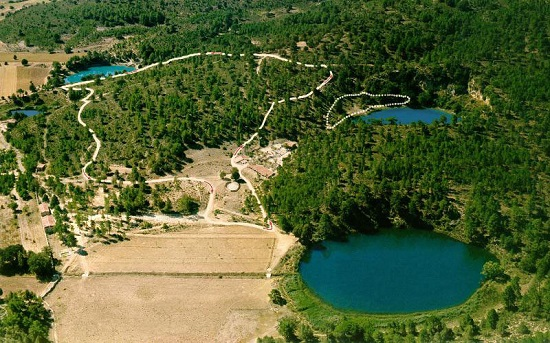 Lagune della Cañada del Hoyo Cuenca Spagna