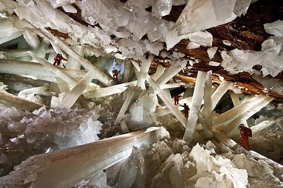 la Miniera di Naica Messico