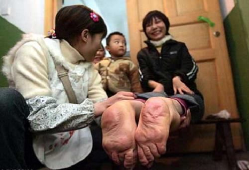 Wang Fang piedi