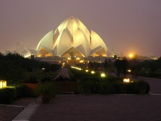 Bahá'í House of Worship a.k.a Lotus Temple Delhi India