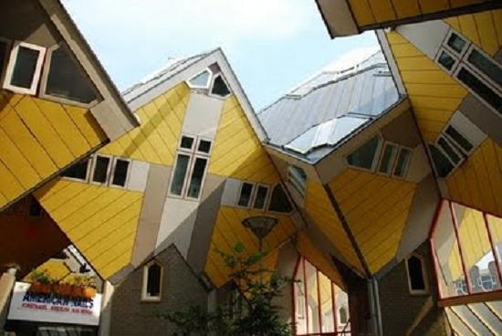 Cubic Houses Rotterdam Olanda