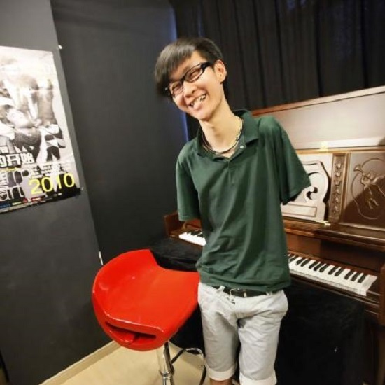 Liu Wei senza braccia