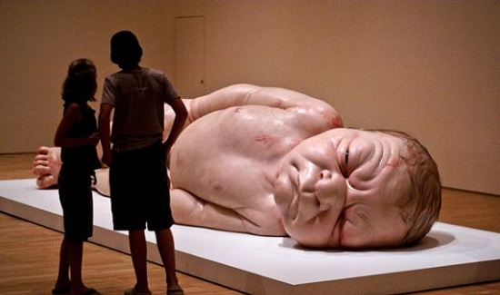 Ron Mueck arts