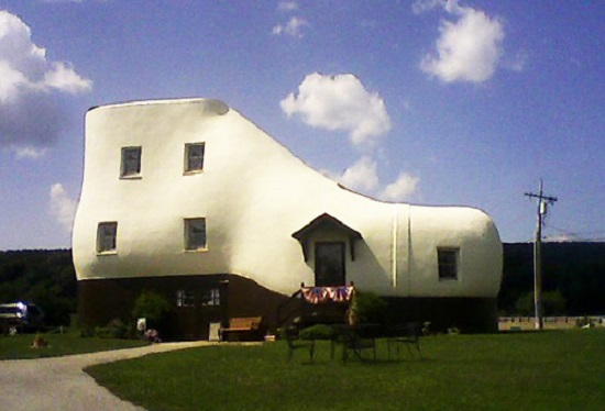 Shoe House Pennsylvania Stati Uniti