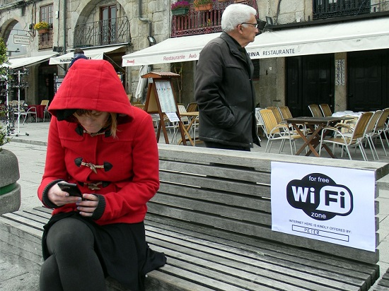 internet free street art