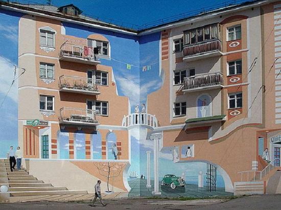 murales 3d John Pugh art