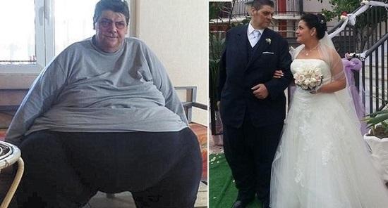 padre perde 200 kg per amore figlia matrimonio