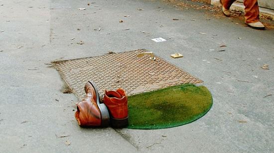 street art fra biancoshock tappeto