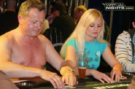 topless poker