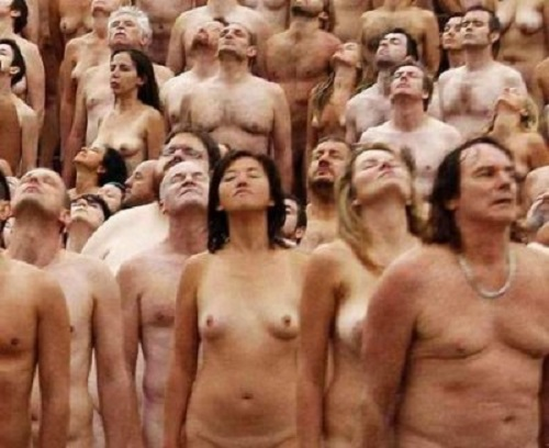 Spencer Tunick nudismo