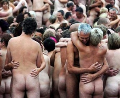 arte Spencer Tunick