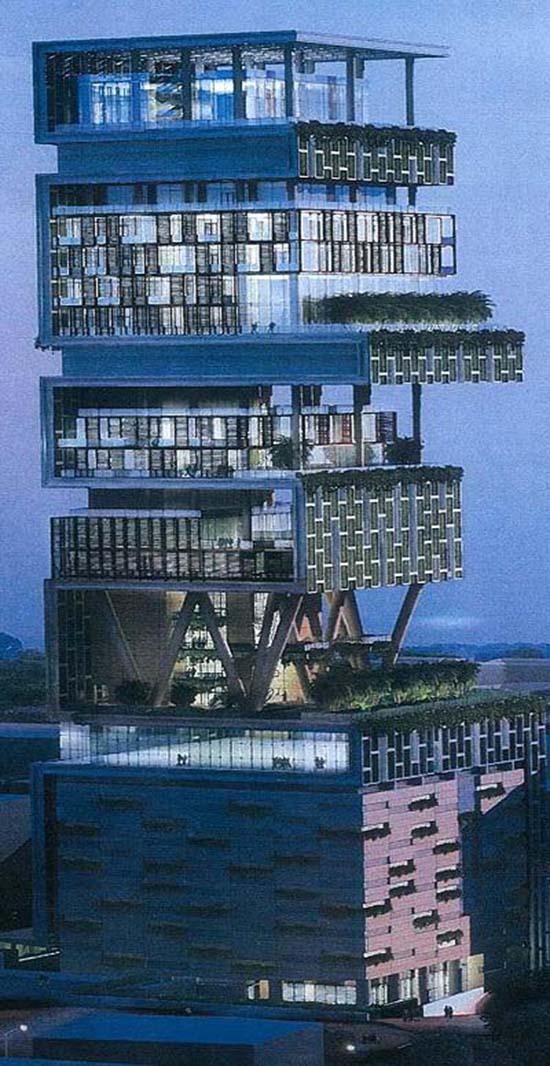 A mumbai la casa pi costosa del mondo curiosit e perch - La casa piu bella al mondo ...