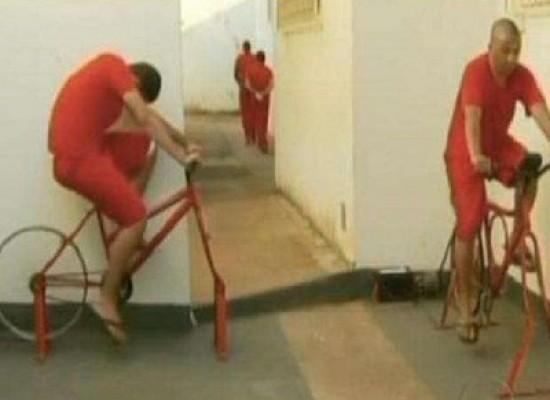 In Brasile i detenuti di un carcere possono ridurre la loro pena pedalando e producendo energia elettrica attraverso delle biciclette
