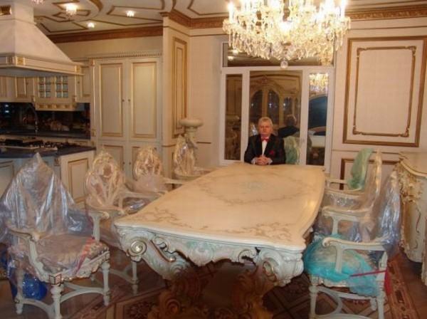 casa uomo ricco
