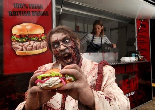 burger carne umana