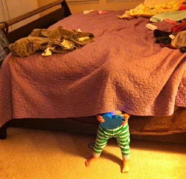 nascondiglio bambini