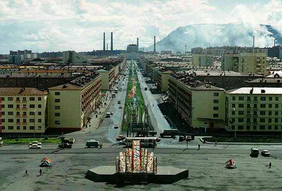 norilsk città chiusa