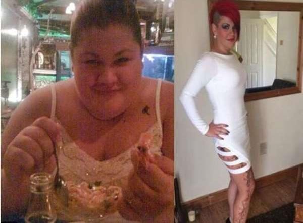 ragazza grassa perde chili per diventare madre