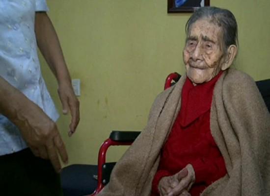 Leandra Becerra Lumbreras la donna più anziana del mondo