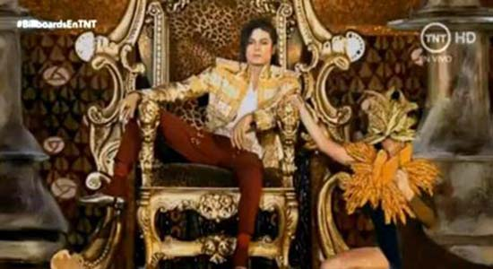 ologramma di Michael Jackson