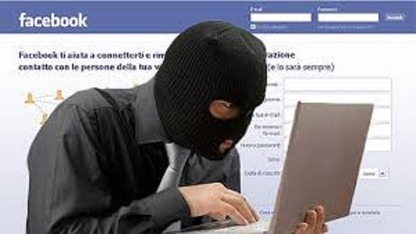 ladro usa facebook e viene arrestato