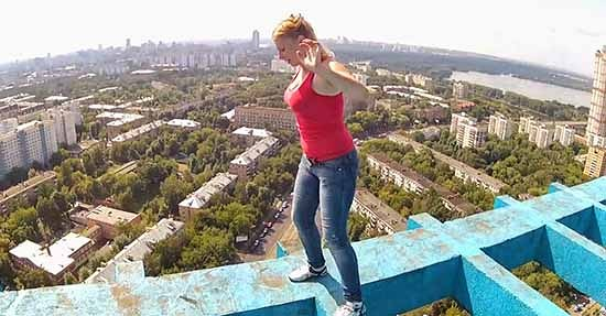 skywalking ragazza russa