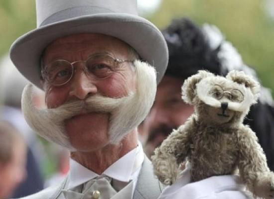 Il vincitore mondiale di barba e baffi del 2014