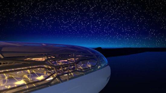 AIRBUS: AEREO DEL FUTURO; NO CLASSI E VETRATE STAR TREK