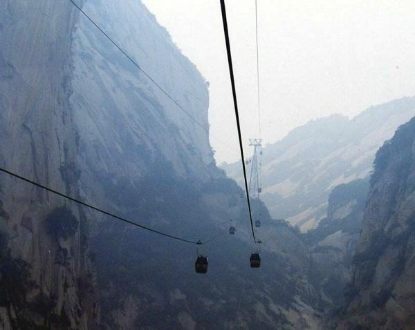 cabinovia sentiero hua shan