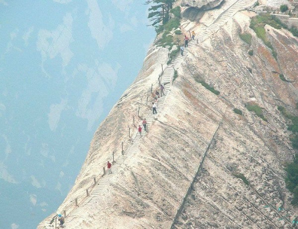 sentiero pericoloso Hua shan