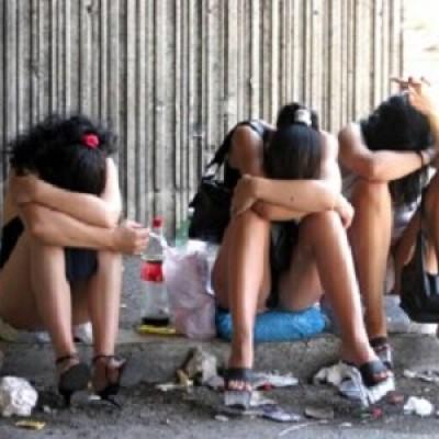 Prostitute eroinomani russe fotografate come top model