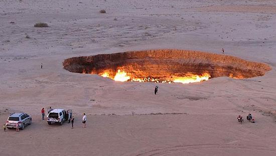 karakum porta inferno