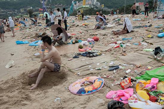 le spiaggie cinesi le più sporche al mondo