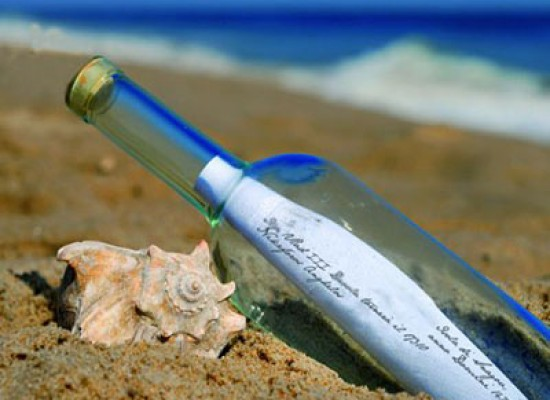 Trovato un messaggio dentro una bottiglia dopo 25 anni
