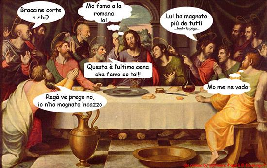 pagare alla romana