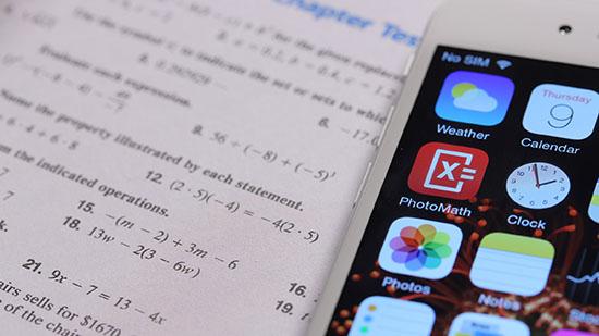 photomath per smarthphone