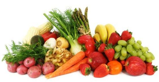 7 porzioni di frutta e verdura al giorno