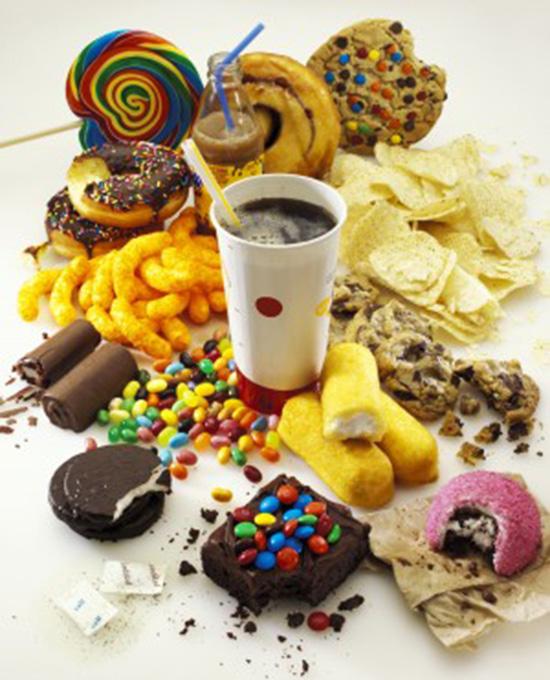 cibo spazzatura fa male