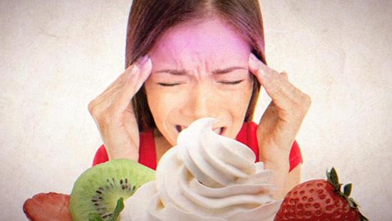 perche il gelato fa venire il mal di testa