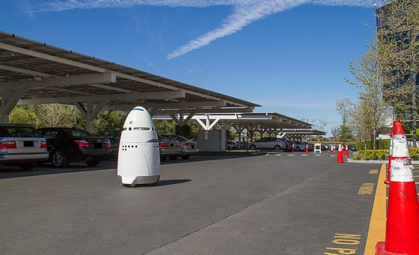 robot vigilantes per sicurezza