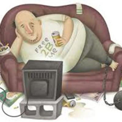 Adesso è possibile bruciare calorie stando tranquillamente seduti sul divano