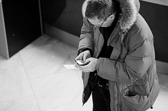 utilizzare spesso uno smartphone