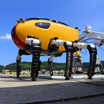 Crabster CR200 il crostaceo robot per le esplorazioni in fondo al mare in zone inaccessibili all'uomo