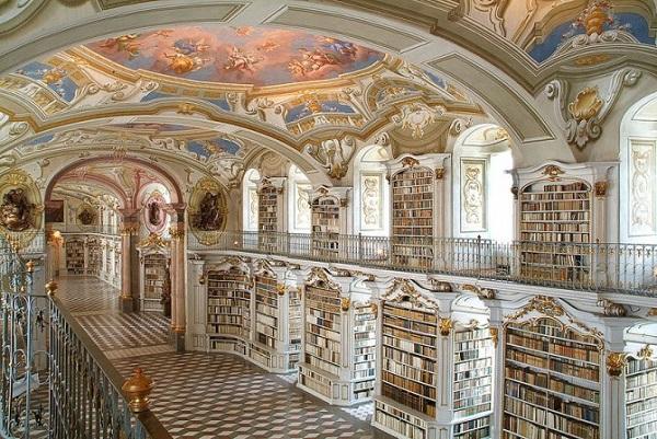biblioteca di admont in austria