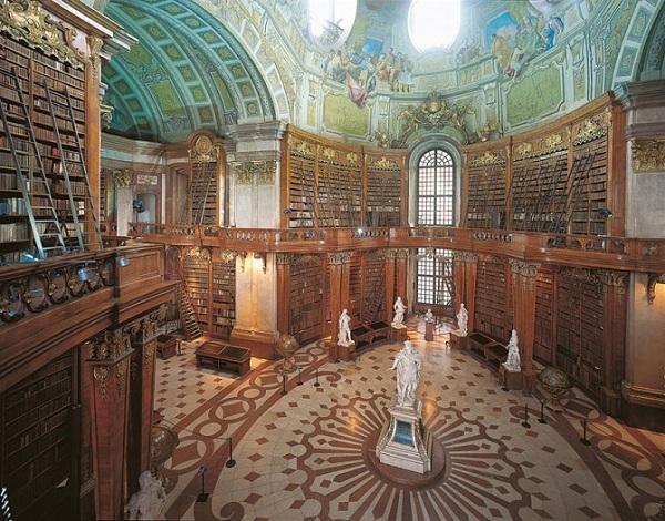 biblioteca nazionale austriaca in austria
